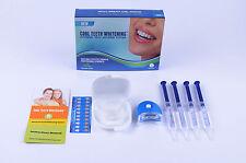 Amazing Smiles Teeth Whitening Pro Kit + White Light Trays Strong Tooth Whitener