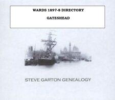 WARDS 1897 DIRECTORY OF GATESHEAD
