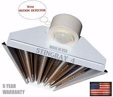LED Garage Shop Utility Light Motion Activated 18,000 Delivered Lumens New 5000k