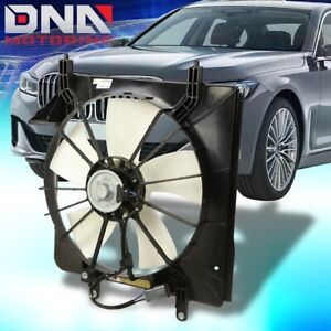 FOR 2004-2008 ACURA TSX FACTORY STYLE RADIATOR COOLING FAN ASSEMBLY REPLACEMENT