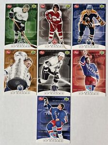 1999 Post Cereal Wayne Gretzky 7 Card Collection Set