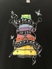 Flight of the Conchords '09 North American Tour Black T-Shirt, Mens/Unisex Small