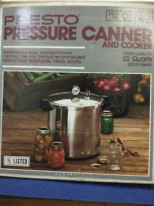 Presto 22q Pressure Canner