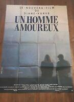 Affiche cinéma Un homme amoureux par Diane Kurys avec Vincent Lindon 120x160