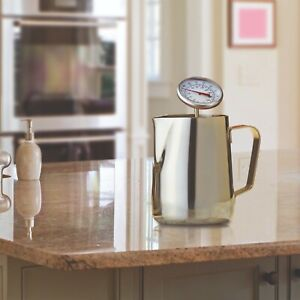 Cooks Professional Milk Jug and Thermometer