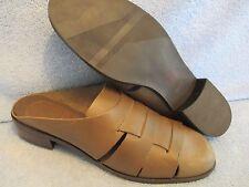 Women's Shoes ST JOHN'S BAY Size 11 M BROWN RACHEL SLIDE CLOG LN