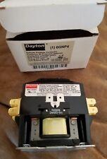 NIB Dayton 120VAC Non-Reversing Definite Purpose Contactor 1P 30A 6GNP4