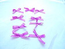 144pcs Mini Ribbon Bow Satin small 37mm sewing decorations wedding Applique