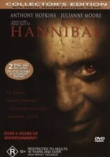 Hannibal (DVD, 2001, 2-Disc Set), Collector's Edition, Like New, Free shipping