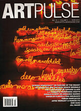 ART PULSE No. 15 Volume 4 Year 2013 L.J. Roberts Dor Guez Jill Magid