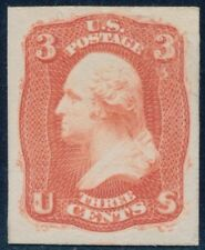 "#65-E15f (SCARLET) ""PREMIERE GRAVURE PL #2 ESSAY ON CARD FORMERLY #56TC3 BQ8877"