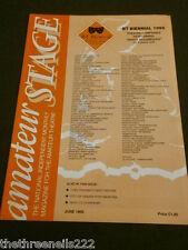 AMATEUR STAGE - CHELTENHAM'S OWN THEATRE - JUNE 1995