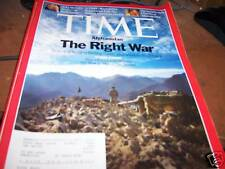 Time Magazine 7/28/2008 Afghanistan The Right War