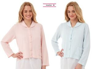 NEW Ladies Waffle Bed Jackets Loungewear By Marlon