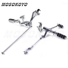 Footrest For 2011 Sportster Superlow XL 883L Chrome Forward Controls Footpegs