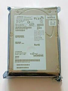 "73 GB Hitachi 10K300 HUS103073FL3800 10K SCSI Ultra 320 80pin HDD 3,5 "" New"