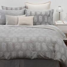 CALVIN KLEIN Tortoise Silver Net 12 x 16 Decorative Pillow O011