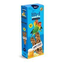 Snack pour Oiseaux Bâtons de Miel pour Tourtereaux Dapac 112g