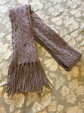 Polo Ralph Lauren Merino Wool/ Cashmere Scarf Grey Unisex