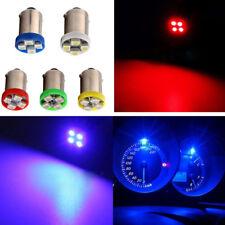 100x 6V 6.3V BA9S 4 SMD 5 Colors LED Car Dashboard Turn Signal Wedge Side Light