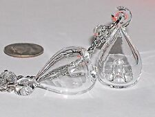 1 Murano Glass Aroma Bottle with Diffuser hole perfume oil pendant small vial CL