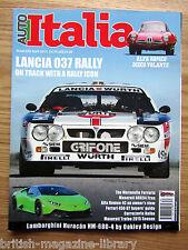 Auto Italia 230 Lancia 037 Rally Disco Volante Huracan HM-680-4 A6G54 Frua 456GT