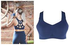 NAVY BLUE Sports Performance Bra size 12/14 Brand New
