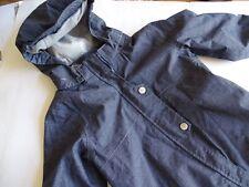 H&M Toller jeansblauer Hardshellanzug  Hardshell-Overall Regenoverall Gr.86-92