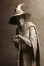 Scary Witch PHOTO Vintage Creepy Halloween Freak Scary Strange Wicked Witch