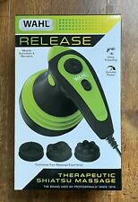 Wahl Deep Rolling Shiatsu Handheld Massager Full Body Massage 4291