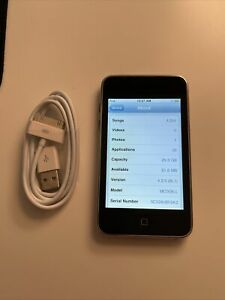 Apple iPod Touch 3rd Gen A1318 32GB Black - 4,354 songs Tested Great Condition!