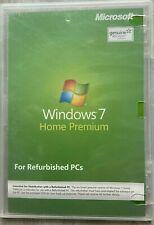 Microsoft Windows 7 Home Premium For Refurbished PC's New