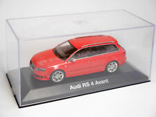 Audi A4 B7 RS4 AVANT (2006>) in rot rouge rosso roja red, Minichamps in 1:43!