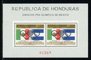 Honduras Note after Scott #C435 MNH S/S PRE-OLYMPICS 1968 Mexico City CV$8+