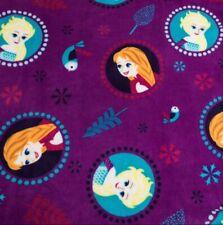 Disney Frozen Queen Elsa & Princess Anna Super Soft Plush Fleece Throw Blanket