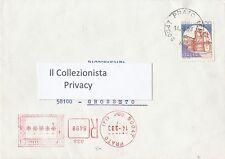 Castelli d' Italia in Busta - un valore da lire 1400 - 1983