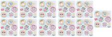 Bubblegum Bubble Gum 66 Mini Stickers!