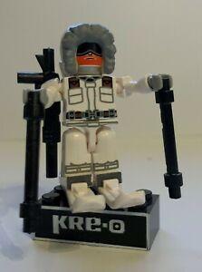 KRE-O G.I. Joe Snow Job 100% Complete (NO ID Card)