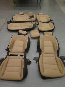 2019 2020 2021 Dodge Ram Crew 1500 Front & Rear Tan OEM cloth seat cover set