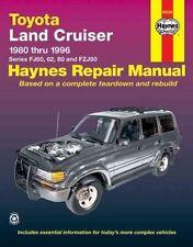 Haynes  Toyota Land Cruiser FJ FZ 1980-1996 Service Repair Manual FREE POSTAGE