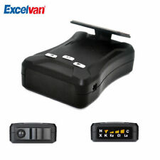 Excelvan D3 Radar Detector Car Speed Laser Radar Detector Crystal Clear Voice Al