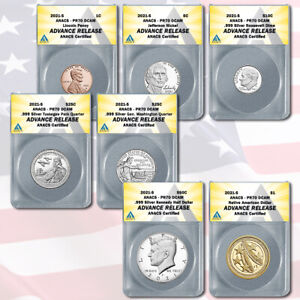 2021-S US Silver Proof Set PR70 Advanced Releases