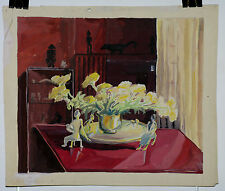 Suzanne Truitard gouache illustrateur des années 30
