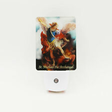 St. Michael the Archangel LED Night Light, Automatic Sensor, Religious Gift.....