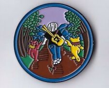 GRATEFUL DEAD - JERRY WITH BEARS... - ENAMEL WITH DOUBLE PIN