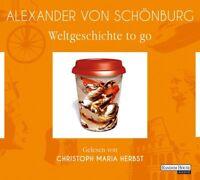 ALEXANDER VON SCHÖNBERG-WELTGESCHICHTE TO GO (SA)CHRISTOPH M.HERBST  4 CD NEU
