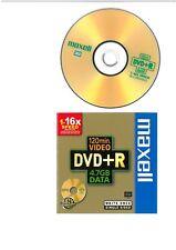 Maxell  DVD+R  4,7 GB  120 Min  1-16x - Box jewel case -- Nuovo