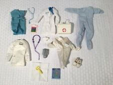 Barbie Ken vintage 80s-90s Clothes Shoes Accessories Lot Doctor Dentist