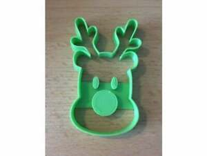 Rudolph Reindeer Nose Christmas Xmas Festive Cookie Cutter Dough Biscuit Pastry