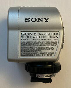 Sony HVL-FDH4 Video Flash Light, Excellent condition!